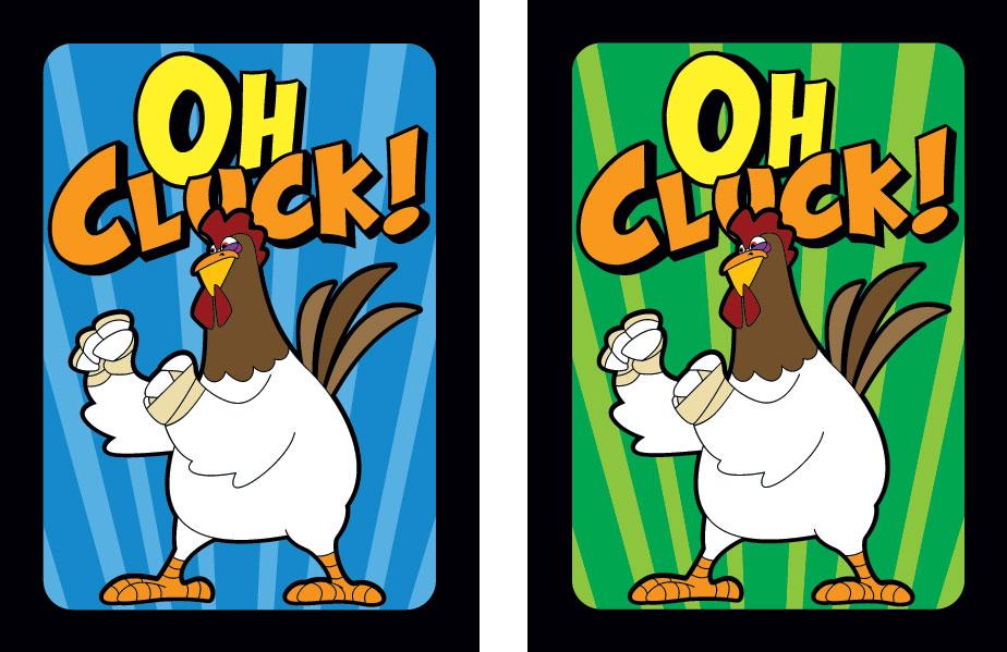 Oh Cluck Card Backs