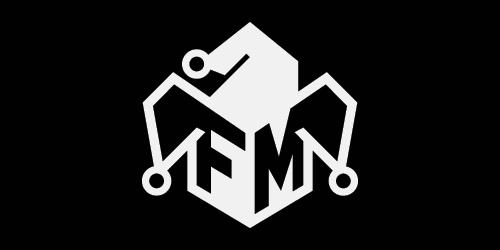 The Foolish Media LLC Logo with black background.