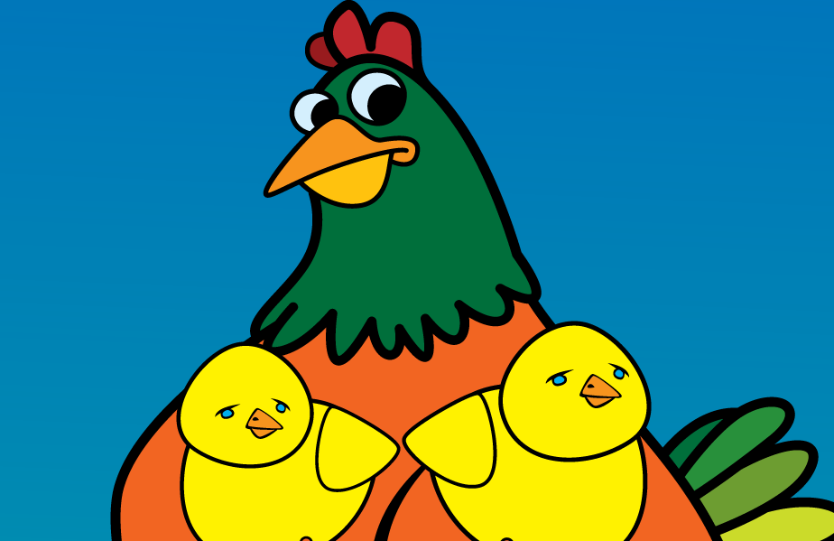Rosie is the Mother Hen, and you're going to feel her wrath in Oh Cluck! The debut card game from Foolish Media LLC!
