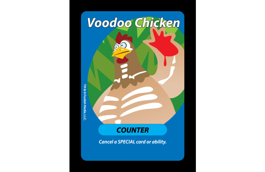 Voodoo Chicken Stops specials right in their tracks.