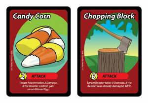 Two new Attack cards from the Eggspansion