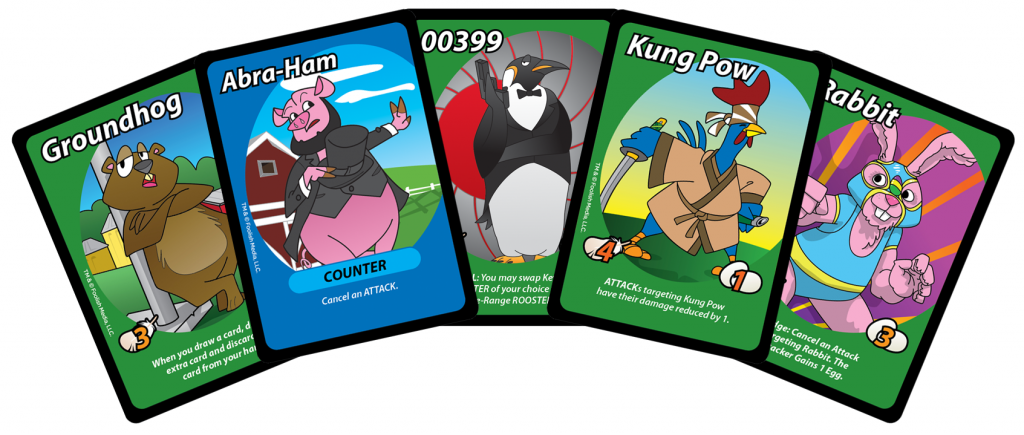 A host of new cards from the Eggspansion!