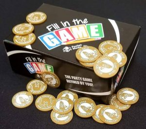 Fill in the Game, with Coins on the Cob