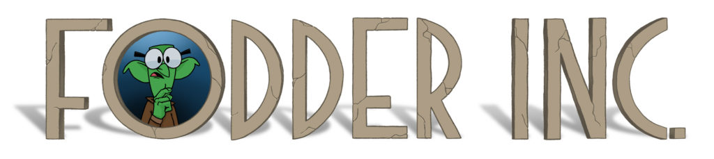 Fodder Inc, a weekly web comic inspired by Dungeons & Dragons